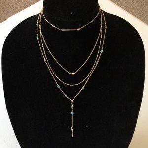 New BaubleBar Layered Chocker Necklace